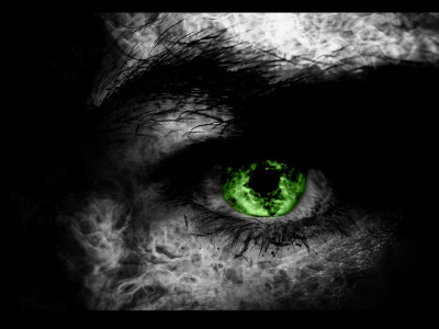 Tapeta: green eye