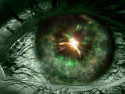 Tapeta green eye