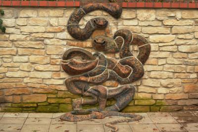 Tapeta: Hadi mozaika