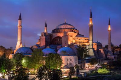 Tapeta: Hagia Sofia, Istanbul