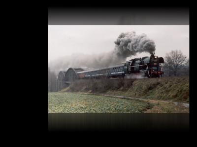 Tapeta: Historický vlak