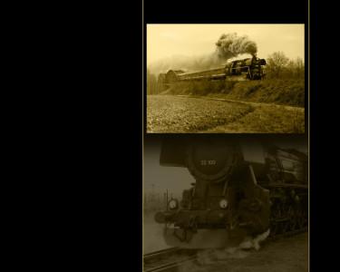 Tapeta: Historický vlak 8