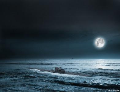 Tapeta: Hon na ponorku
