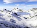 Tapeta Horská Zima