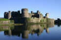 Tapeta Hrad Caerphilly, Wales