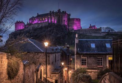 Tapeta: Hrad Edinburgh, Skotsko
