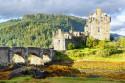 Tapeta Hrad Eilean Donan, Skotsko