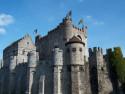 Tapeta Hrad Gravensteen, Belgie