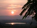 Tapeta Slunce nad Indií