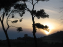 Tapeta Italský západ slunce