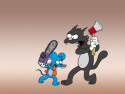 Tapeta Itchy a Scratchy