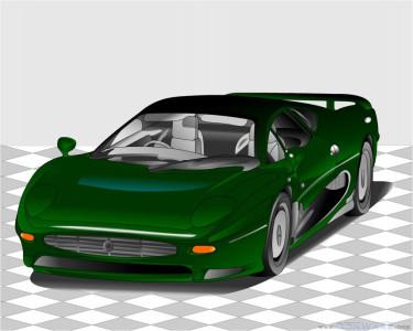 Tapeta: Jaguar XJ220