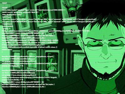Tapeta: Japonský programátor