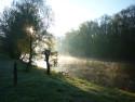 Tapeta Jarní řeka