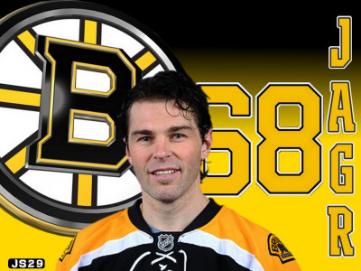 Tapeta: Jaromi Jagr - Boston Bruins