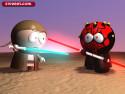 Tapeta Jedi souboj