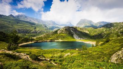 Tapeta: Jezera15