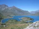 Tapeta Jezero Moncenisio 3