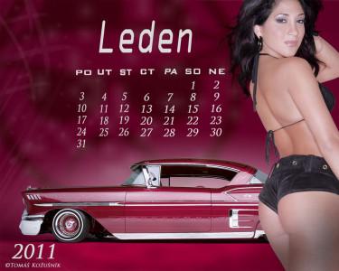 Tapeta: Kalendář leden 2011