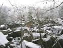 Tapeta Kamenné moře v zimě