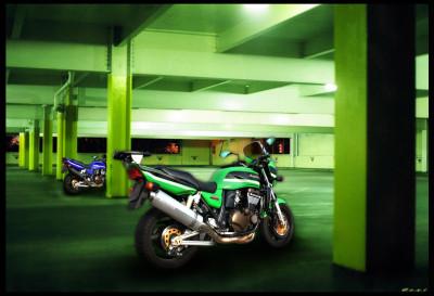 Tapeta: Kawasaki ZRX1200r