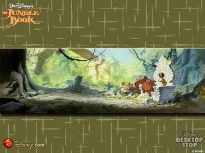 Tapeta: Kniha Džunglí 3