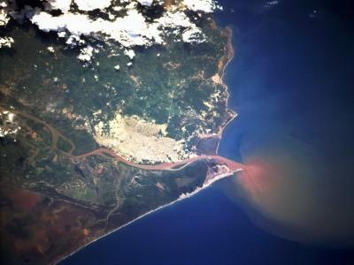 Tapeta: Kolumbie z vesmíru