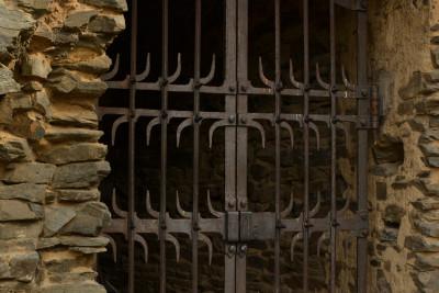 Tapeta: Kovaná mříž 1