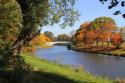 Tapeta krajina-podzimní