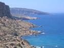 Tapeta Kréta - Red Beach