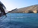 Tapeta Kréta - záliv Matala