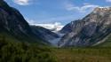 Tapeta Ledovec Jostedal, Norsko