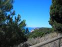 Tapeta Les Torretes-výhled na moře 1