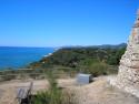 Tapeta Les Torretes-výhled na moře 2