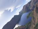Tapeta Let nad jezerem