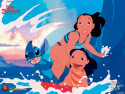 Tapeta Lilo & Stitch 2