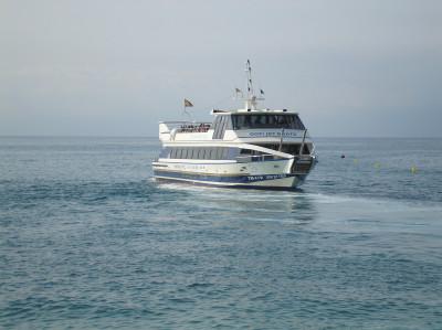 Tapeta: Loď do Blanes 1