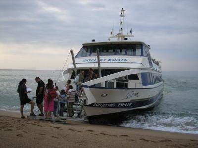 Tapeta: Loď do Blanes 2
