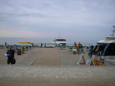Tapeta: Loď do Blanes 4-Calella