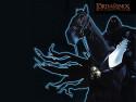 Tapeta LOTR: Temný jezdec