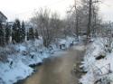 Tapeta Loučná v zimě
