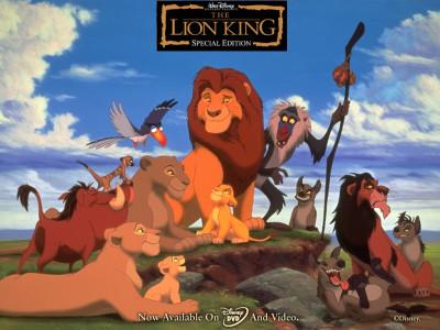 Tapeta: Lví král