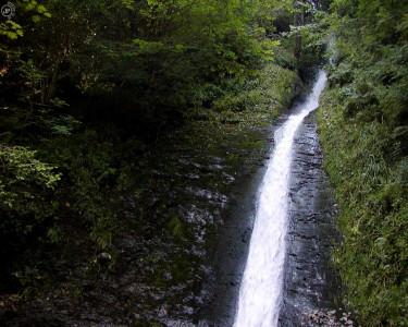Tapeta: Lydford Gorge Waterfall
