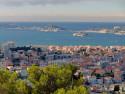Tapeta Marseille a ostrov Frioul
