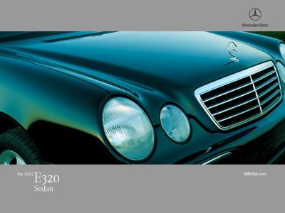 Tapeta: Mercedes E320 Sedan