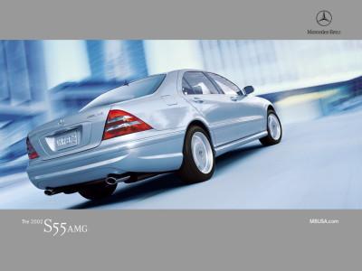 Tapeta: Mercedes S55