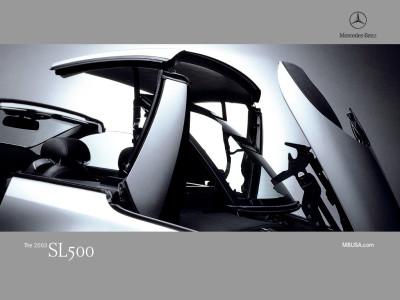 Tapeta: Mercedes SL500 Detail