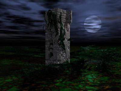Tapeta: Měsíční svit