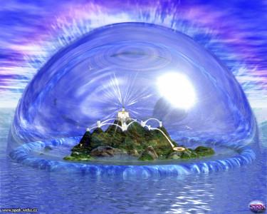 Tapeta: Město Atlantis
