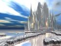 Tapeta Město budoucnosti Zion